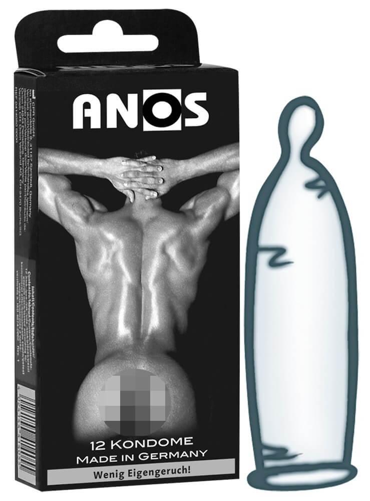 Anos kondómy - extra hrubé (12 ks)
