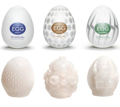 Tenga maszturbátorok / TENGA Egg válogatás II. (6db)