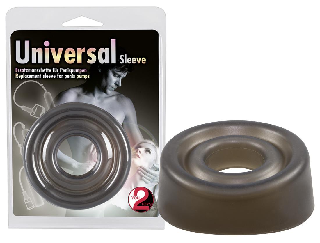 You2Toys Universal Sleeve - silikónová náhradná manžeta v dymovej farbe