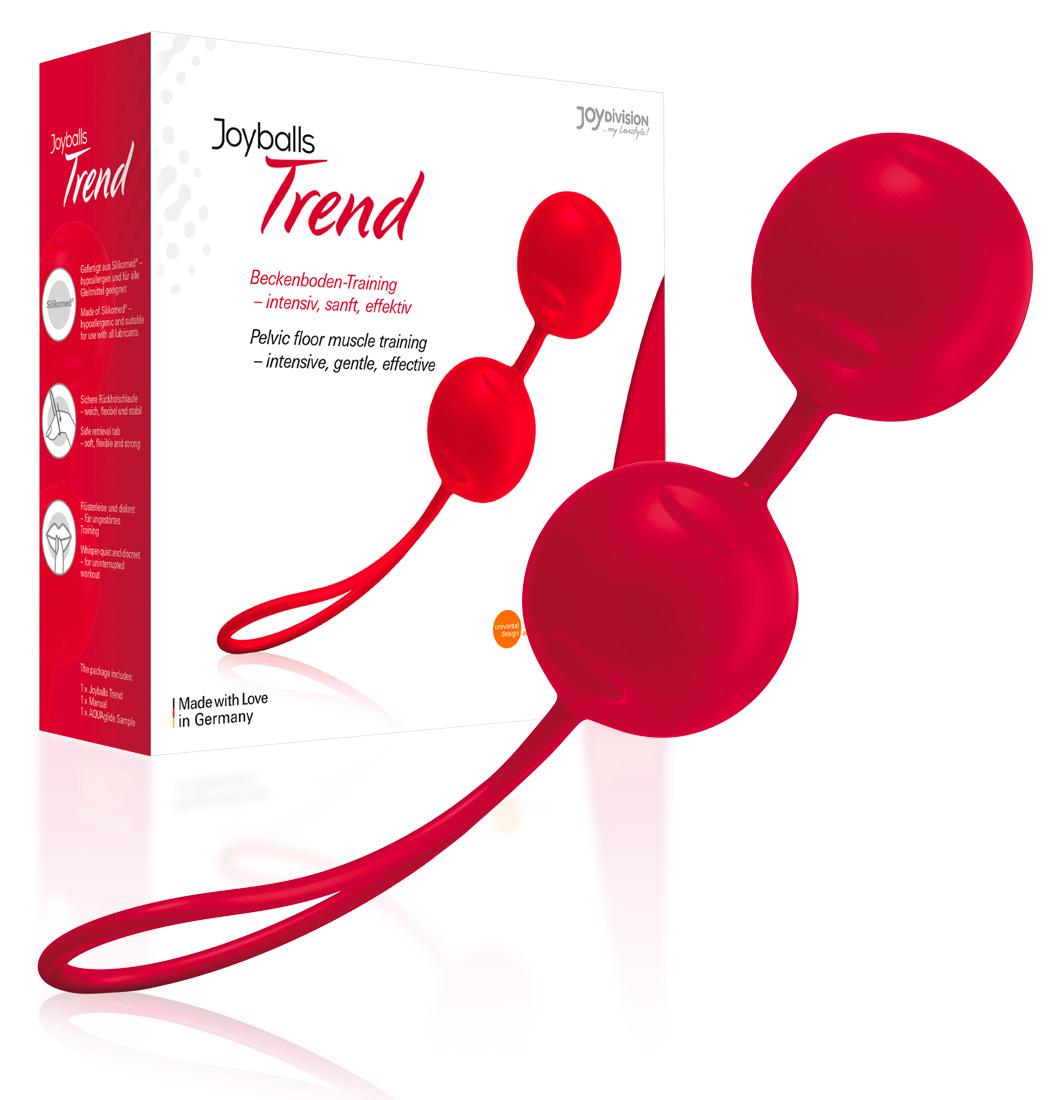 Guličky rozkoše - červené (Joyballs)
