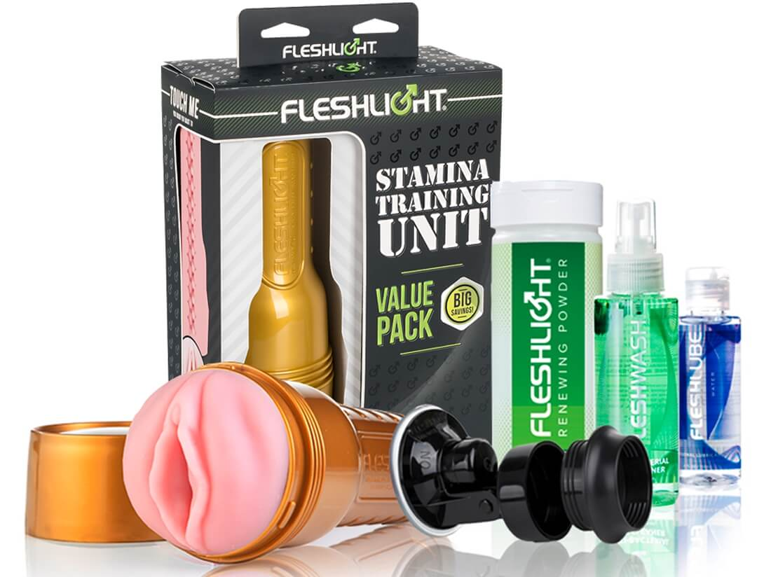 Fleshlight - The Stamina Training Uni set (5 dielny)