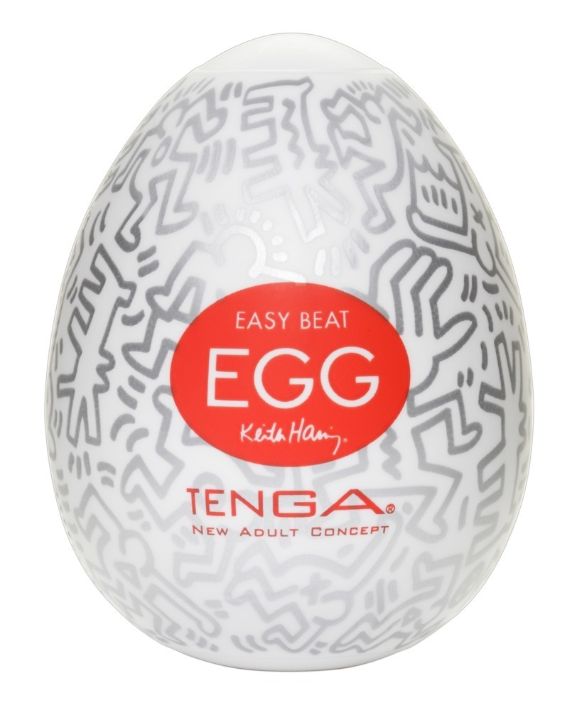 TENGA Keith Haring - Egg Party (1 ks)