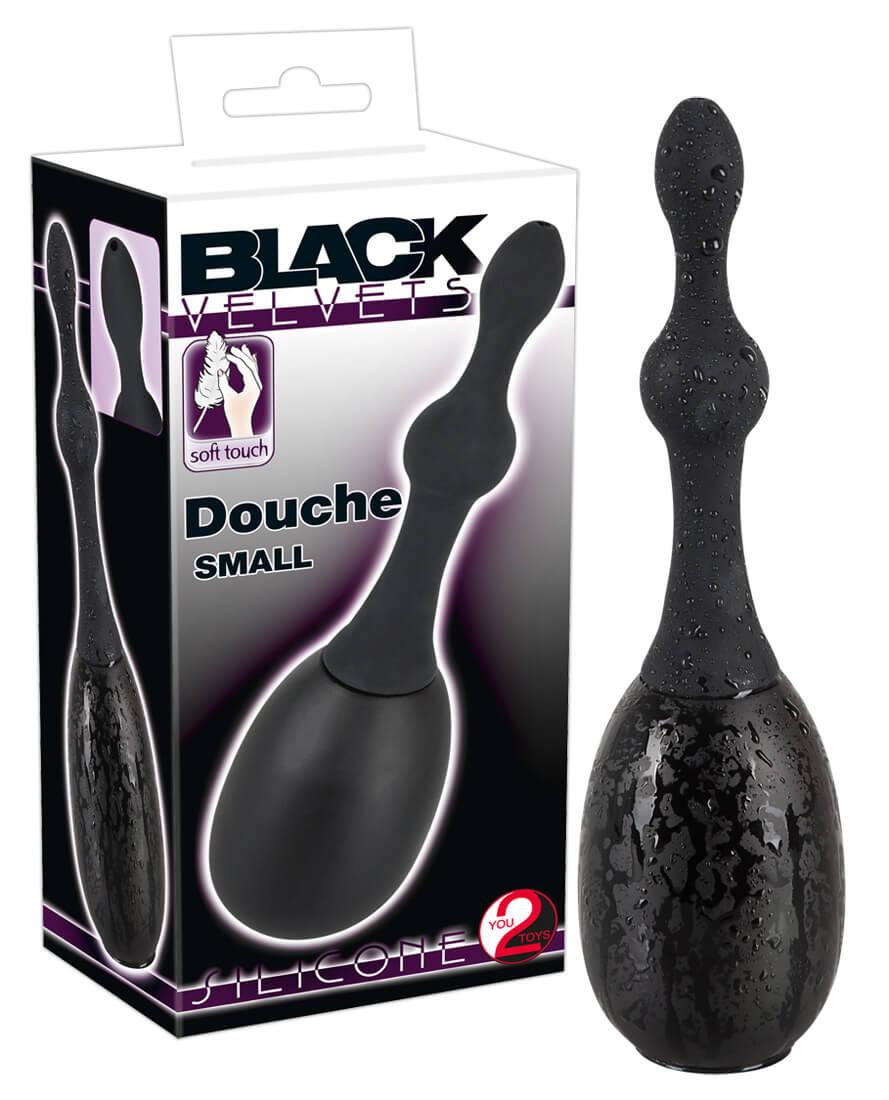 You2Toys Black Velvet Douche Small - intímna sprcha malá (čierna)