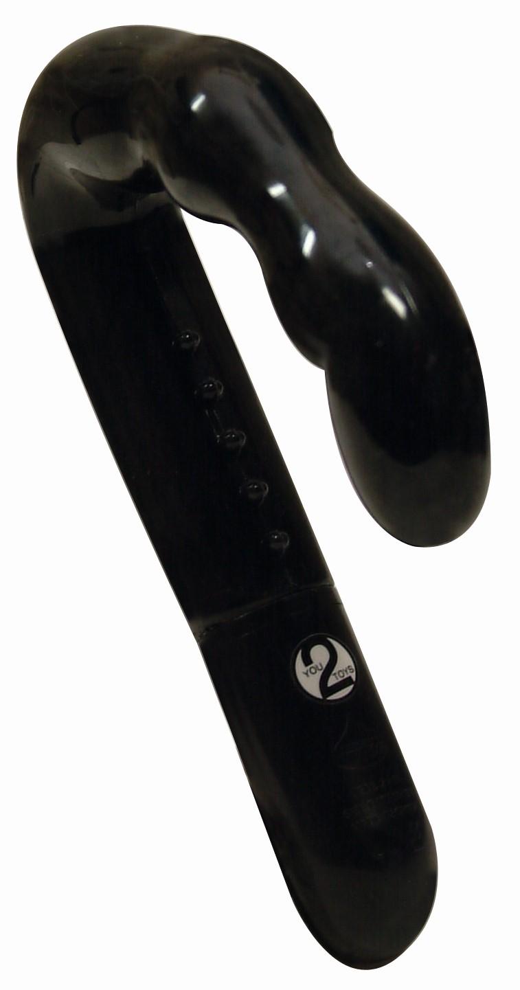 Prosztataizgatók / Prosztata vibrátor - 10 fokozatú (fekete)