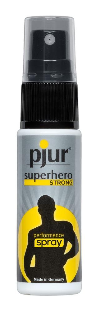 Pjur Superhero Strong - Spray na  oddialenie ejakulácie (200ml)