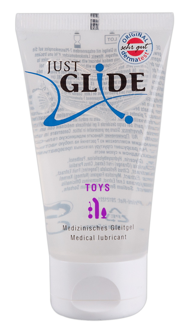 Just Glide Toy - lubrikant na báze vody (50ml)
