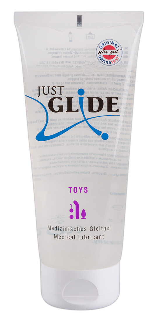 Just Glide Toy - lubrikant na báze vody (200ml)