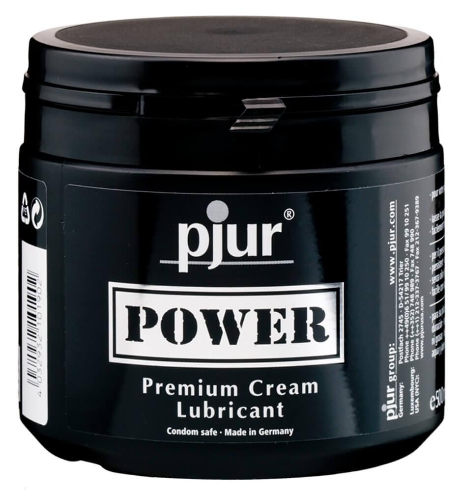 Pjur Power - prémiový lubrikačný krém (500 ml)