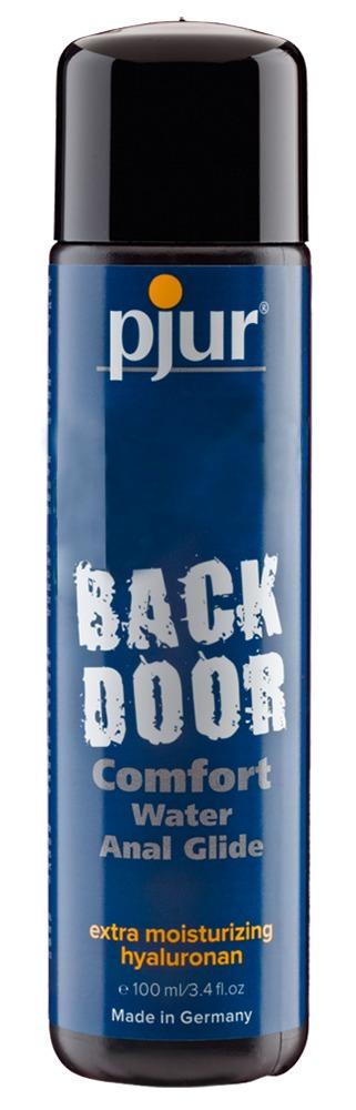 pjur BLACK DOOR - Análny lubrikant na báze vody (100 ml)