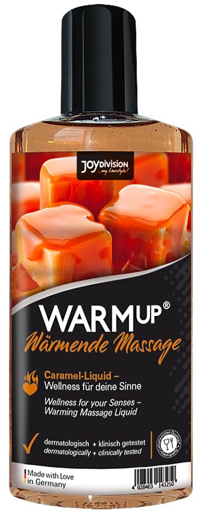 JoyDivision Warm Up Caramel - hrejivý masážny olej karamelový (150ml)