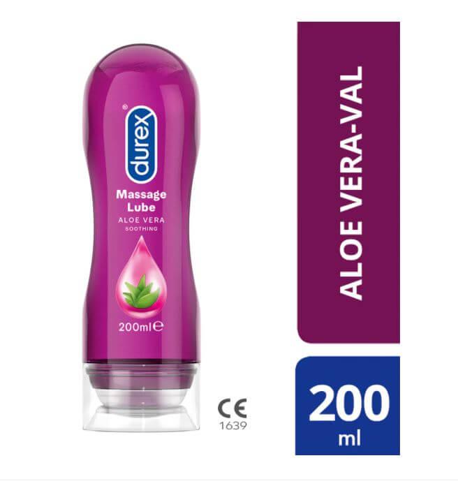 Durex Play 2in1 masážny olej - Aloe Vera - 200ml