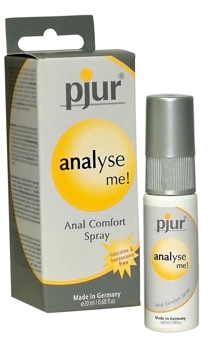 Pjur Analyse Me - análny ošetrujúci spray (20ml)