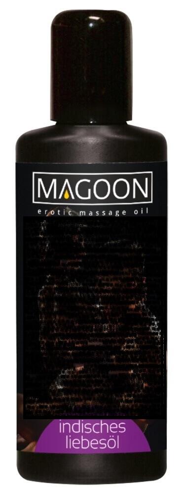 Magoon Indisches Liebes Öl - masážny olej mandľový (100ml)