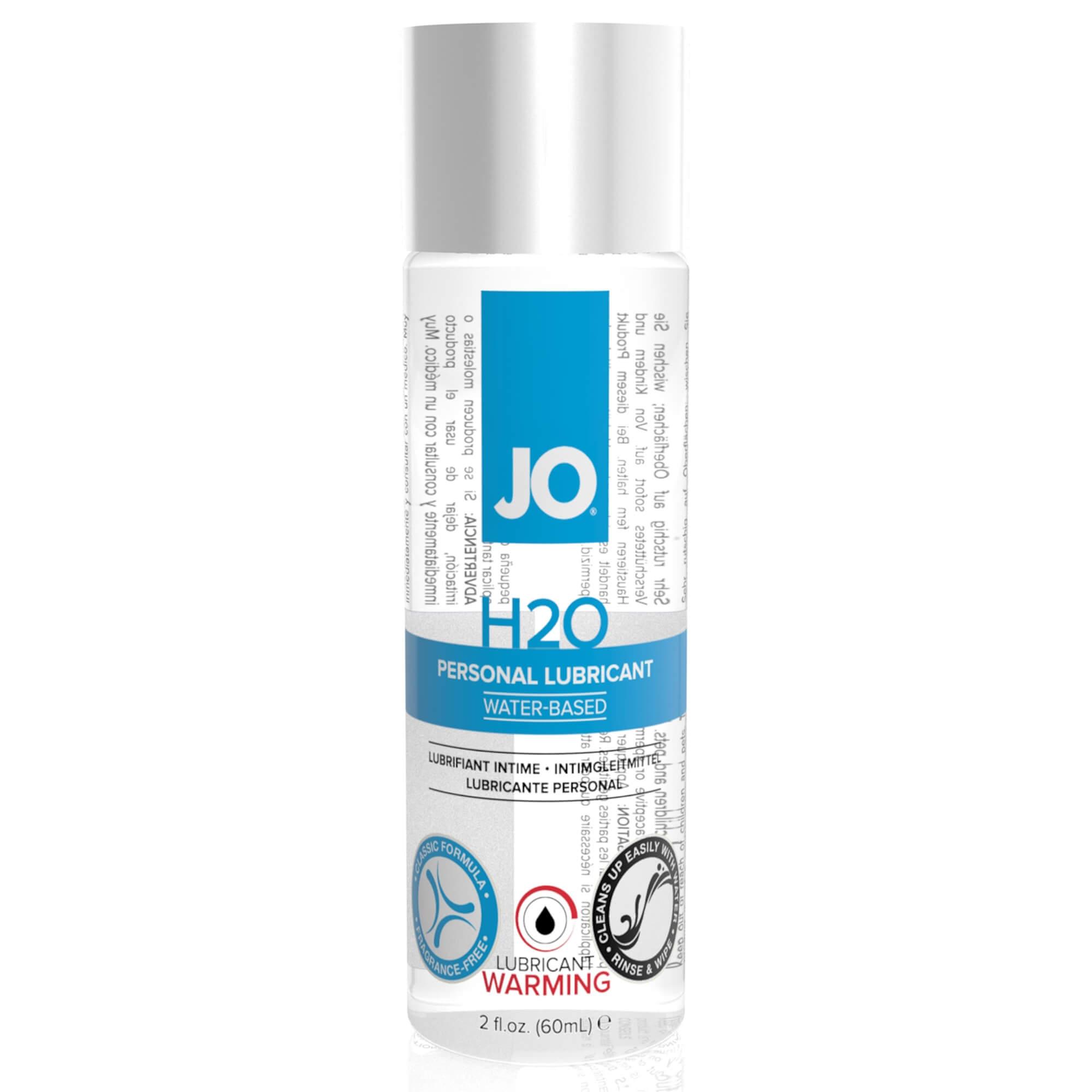 JO H2O Personal Lubricant - hrejivý lubrikačný gél na báze vody (75ml)