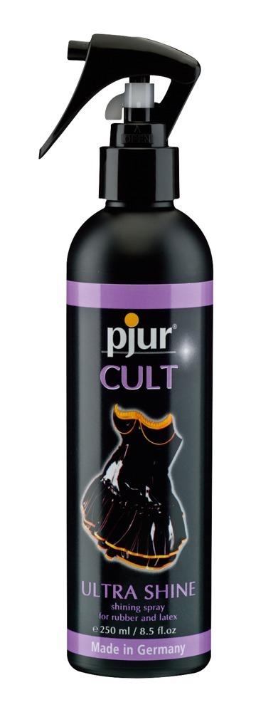 Pjur Cult Ultra Shine - ošetrujúci spray na latex (250ml)
