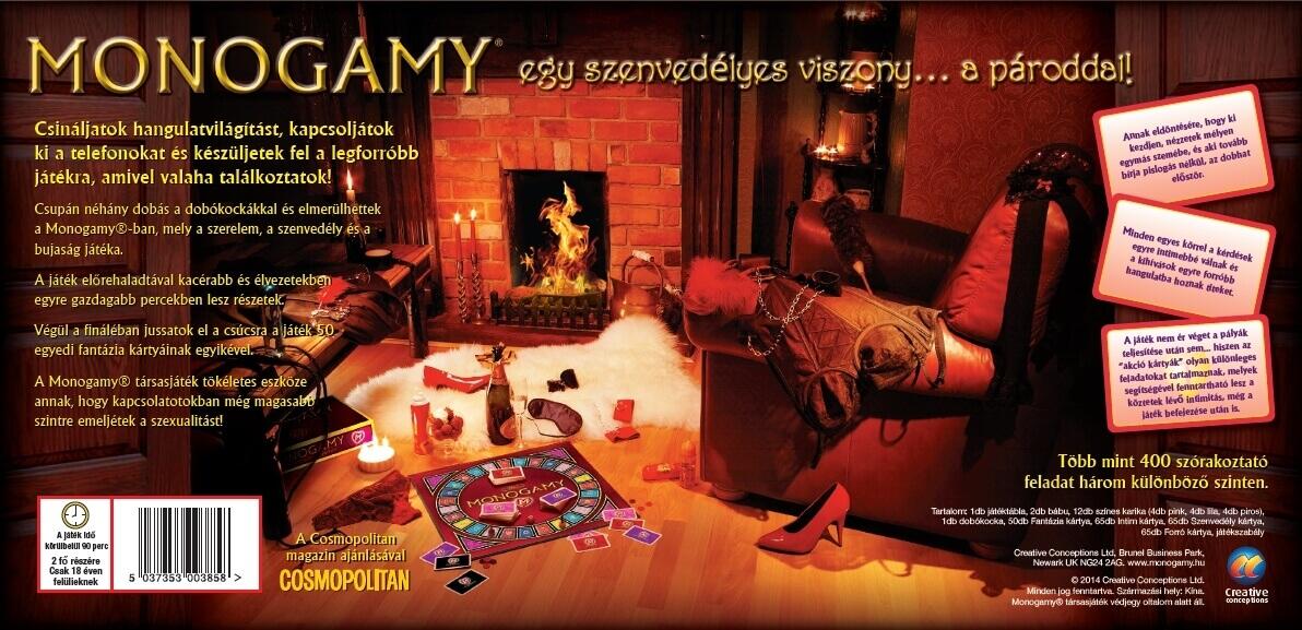 Erotikus társasjátékok / Monogamy társasjáték