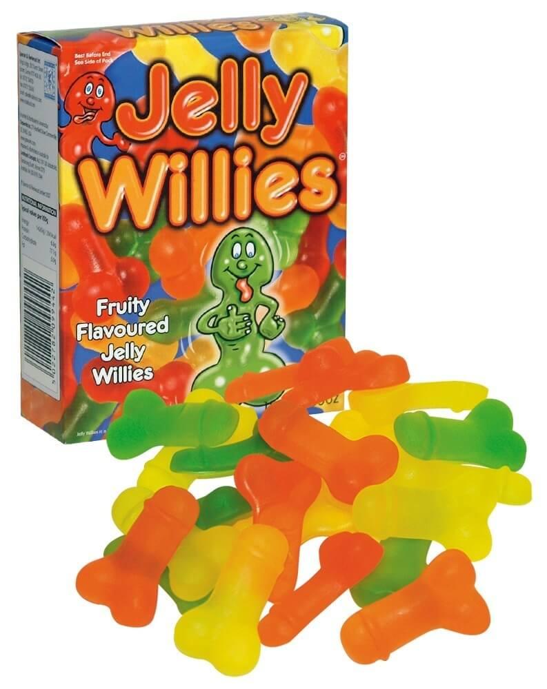 Spencer&Fleetwood Jelly Willies - gumové cukríky v tvare penisu (150g)