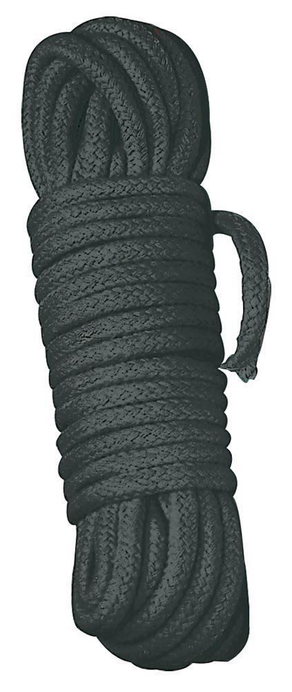 Bondage lano - 3m (čierna)