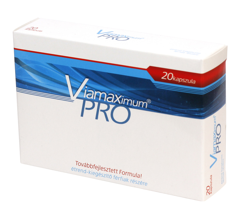 Viamaximum Pro – výživový doplnok pre mužov (20ks)