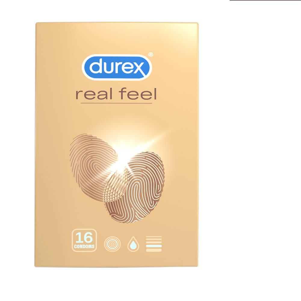 Durex Real Feel – kondómy (16ks)
