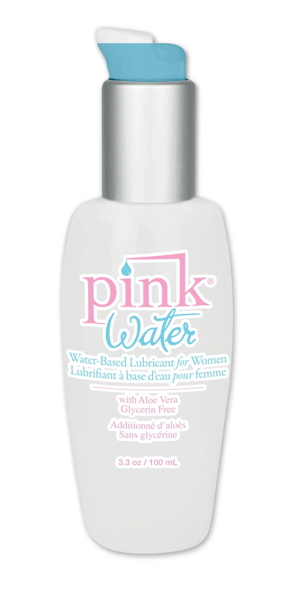 Pink Water Based Lubricant - stimulačný lubrikant na báze vody (80ml)