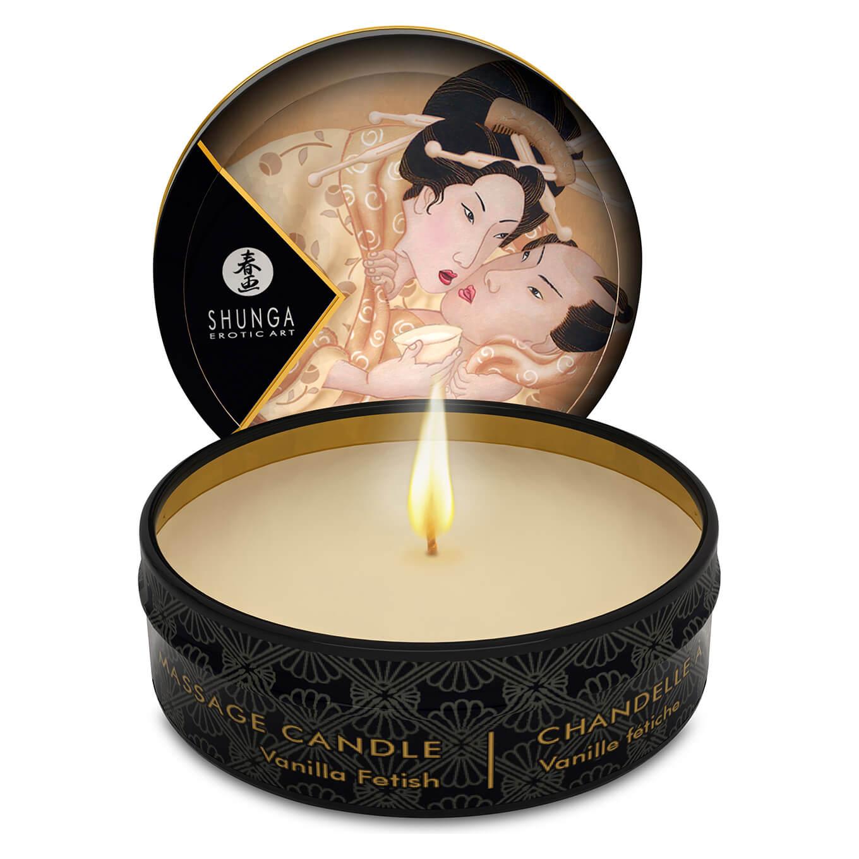 Shunga Massage Candle Vanilla - masážna sviečka (vanilka)