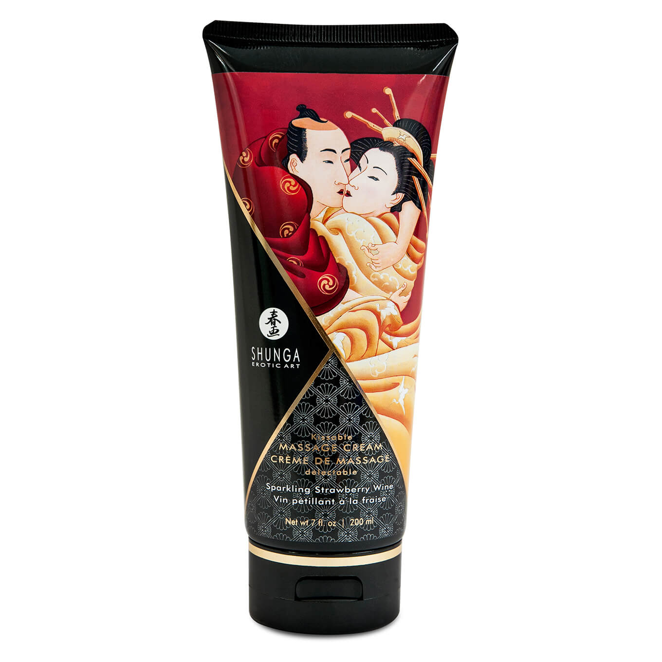 Shunga Massage Cream Strawberry 200 ml